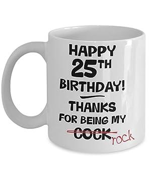 25th Birthday Gift Mug For Men