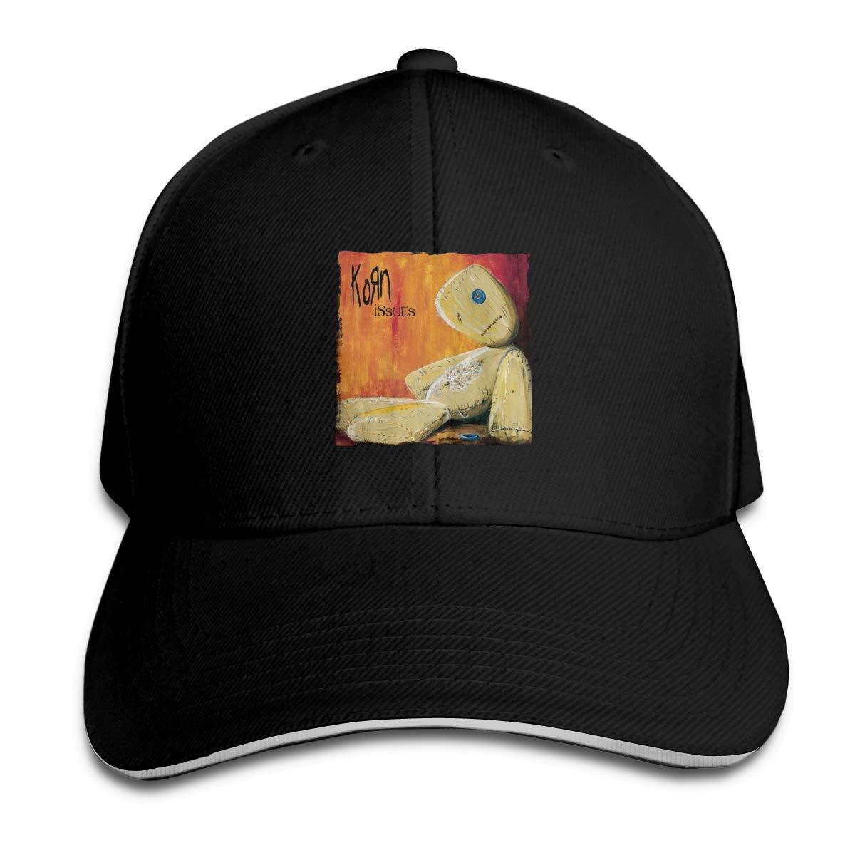 Eugrandet Korn-Issues Unisex Twill Adjustable Sports Hat