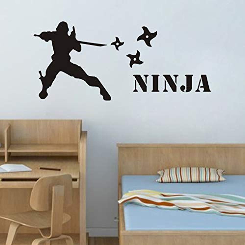Amazon.com: Cool Personalized Name Ninja Murals Customized ...