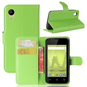 Guran® Funda de Cuero PU Para Wiko Sunny 2 Smartphone Función de ...
