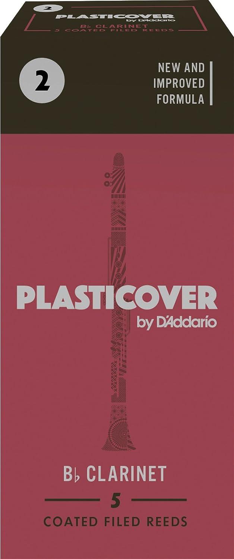 Rico Anches Rico Plasticover pour clarinette si bémol, force 3.0, pack de 5 D' Addario Ltd RRP05BCL300