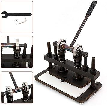 YIYIBY máquina de troquelado de cuero máquina de estampado manual ...
