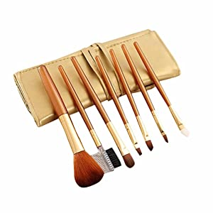 Creazy 7Pcs/set Concealer Brushes Powder Blush Brush Cosmetic Makeup Brush Set Tool