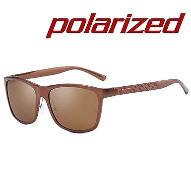 JULI Mode Polarisées Lunettes de soleil Homme Femme UV400 Protection Magnésium  d aluminium Alliage Incassable Cadre cd1e71a3ef6d