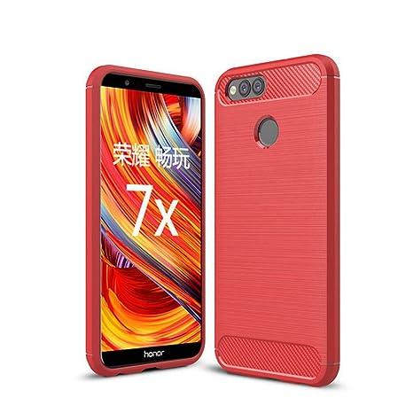 NEKOYA Funda Huawei Honor 7X, Huawei Honor 7X Carcasa con ...