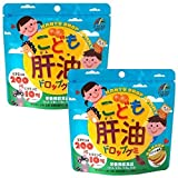 Unimat RIKEN children cod-liver oil drop gummy 100 grain ~ 2 bags [Parallel import]