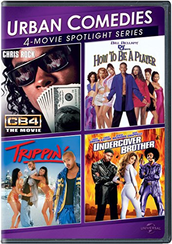 Urban Comedies 4-Movie Spotlight Collection (How to Be a Player / Trippin' / CB4 / Undercover Brother) (How To Cb)