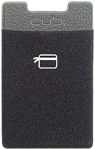 محفظة خلفية لاصقة للهواتف الذكية من كارد نينجا، اسود