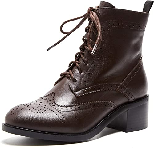 Leather Biker Boots Martin Boots