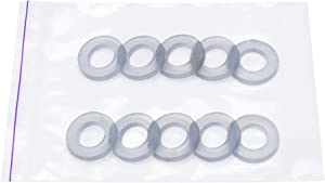 Grommet Eyelet Ring 1/2 inch silicone washer gaskets 1/2 inch silicone washer seals (10 pieces in pack)