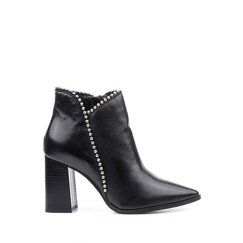 sports shoes 2a99b 30ef9 CafèNoir Stivaletto LC433 Nero Nero, 38: Amazon.it: Scarpe e ...