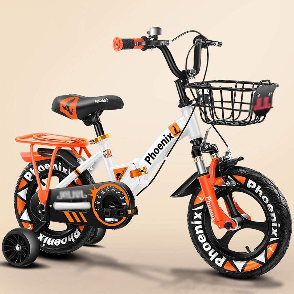 FINLR-Bicicletas infantiles Bicicleta Niños Bicicleta De Montaña Bicicleta De Pedal para Niños Las Bicicletas De Los Niños En Tamaño 12