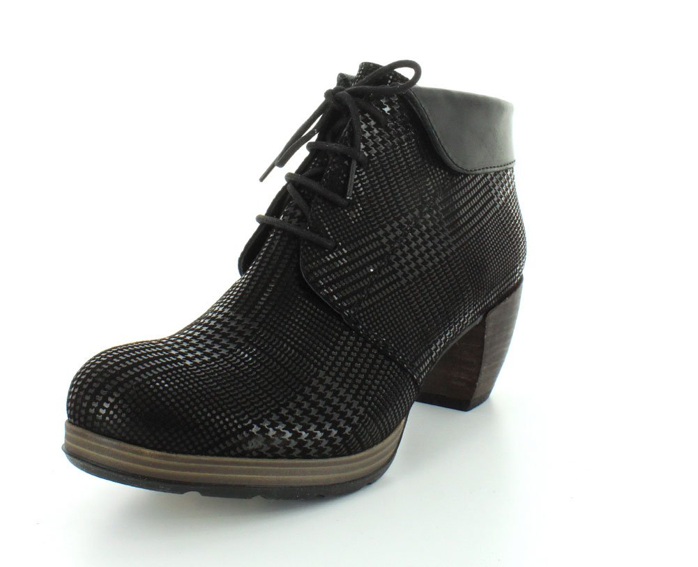 Wolky Comfort Boots 07983 Jacquerie B00IZG98WW 36 M EU|Black Dessin Suede W/Black Collar
