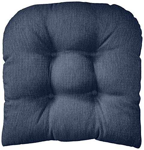 Klear Vu Gripper Non-Slip Omega Tufted Universal Chair Cushion, 17