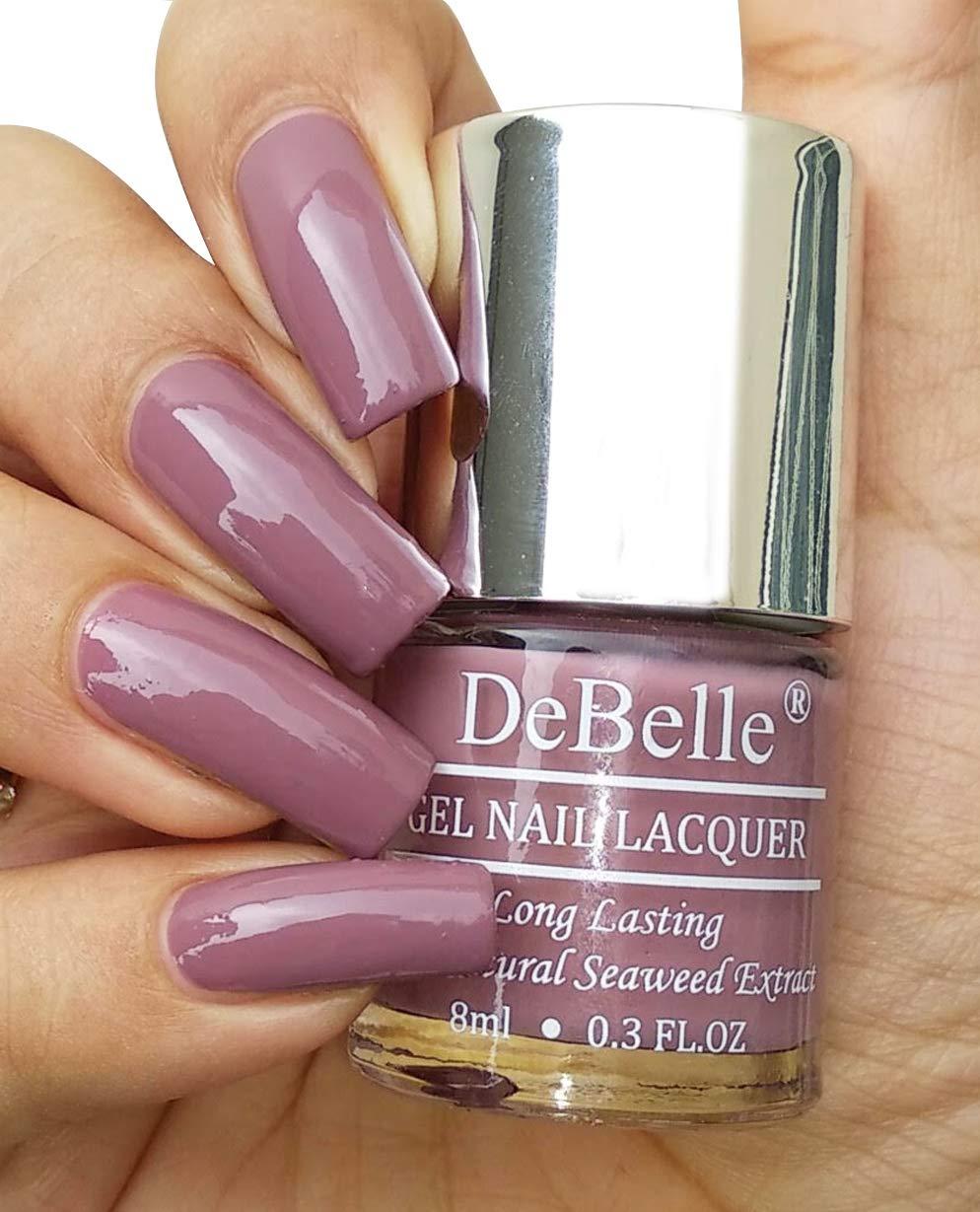 DeBelle Gel Nail Lacquer Majestique Mauve - 8 ml