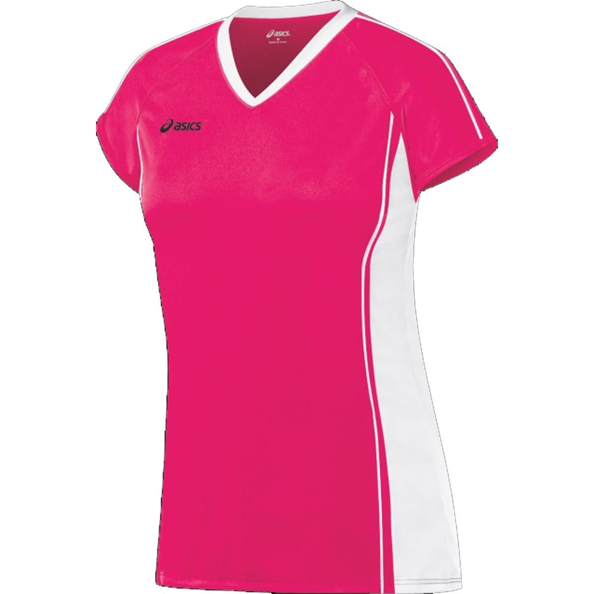 Asics Women's Replay Jersey Soccer B005AD49FY Rhapsody/White M