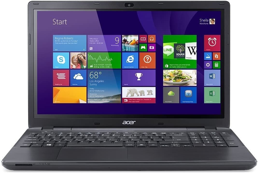 "Acer - Aspire E5-571P-55TL 15.6"" Touch Screen Laptop / Intel Core i5 / 4GB Memory / 500GB HD / Webcam / Windows 8.1 64-bit (Black Matte)"