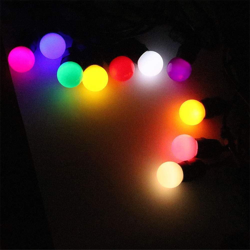 AOK DOOR Multi Colour Light Bulb Light Bulbs Screw E27 Light Bulb Led Candle Light Bulbs Candle Light Bulbs Candle Led Light Bulbs Candle Light Bulbs Screw 2w,Blue