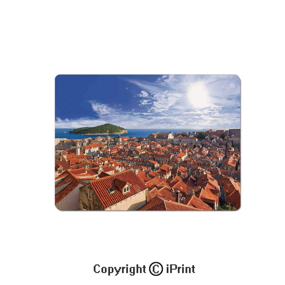 Amazon.com : Gaming Mouse Pads, Sunset of Dubrovnik City ...
