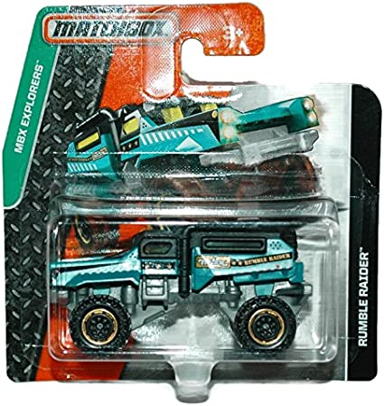 Matchbox MBX Explorers Rumble Raider Short Card Mattel