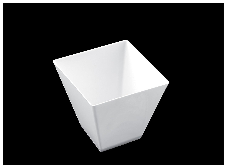 colore bianco Coppetta Rombo 25 pz per confezione Gold Plast Capienza 95 cc