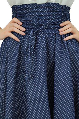 Nido Faldas Las Moda Abeja Azul Elegantes Mujeres Alta Bimba Cintura Con Marino Dibujos De Cambray pnZUUxw