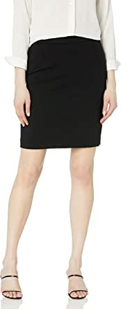 Calvin Klein Women's Petite Lux Straight Skirt