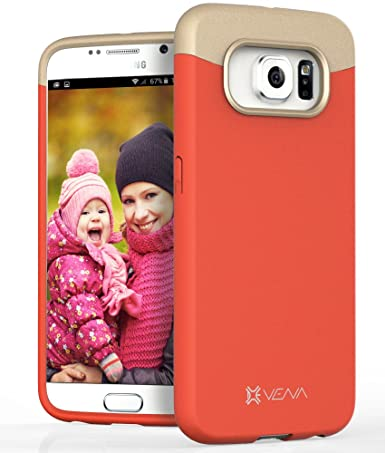 Amazon.com: Samsung Galaxy S6 Funda – Vena [iSlide] Slim Fit ...