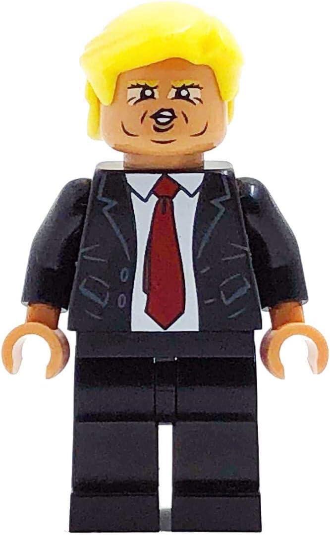 miniBIGS Donald Trump Custom Figure Made from Genuine Lego Minifigure Elements