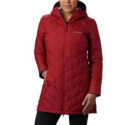 Columbia Women's Heavenly Long Hooded Jacket: Clothing