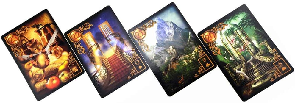 47 Tarot Card Deck Edition augment/ée Mass Market Paperback Jannyshop Gilded Reverie Lenormand NO Guide du Livre