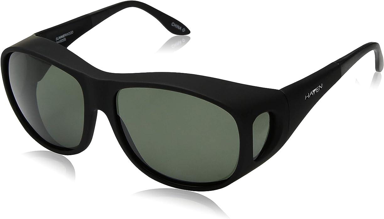 6e94b588e4 Amazon.com  Haven Over-Prescription Sunwear Summerwood Sunglasses ...