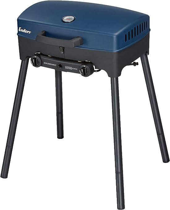 Enders Explorer Next Portable Gas Barbecue, Blue: Amazon.es ...