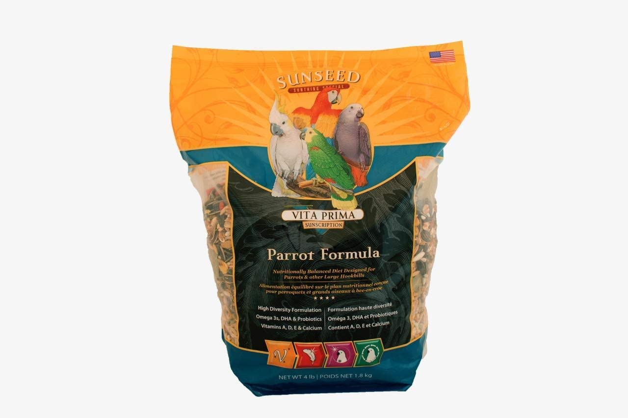 Sunseed SunSations Natural Parrot Formula 3.5lb