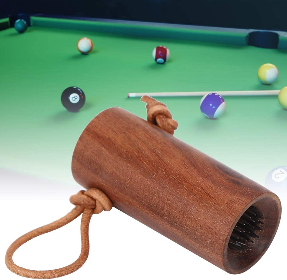 Alomejor Billar Pool Cue Tip 2 en 1 Snooker Billard Pool Cue Tip Tool Multifunción Billiard Pool Cue Tip Stick Shaper Repair Tool(marrón): Amazon.es: Deportes y aire libre