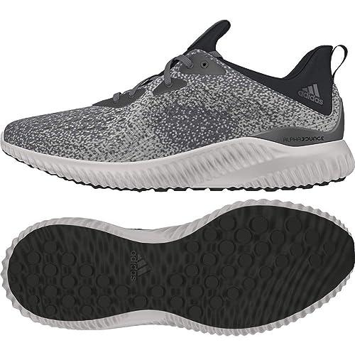 los angeles 720f1 9d4cf Amazon.com  adidas AlphaBounce EM Mens Running Shoes - Grey-UK 8  Running