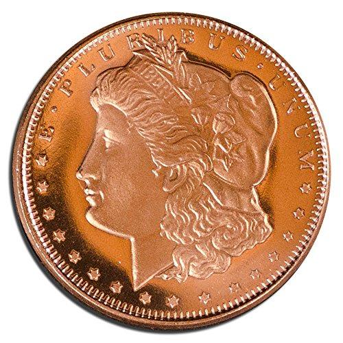 Private Mint Morgan Design 1/4 .999 Copper (Coin Collectors Assistant)