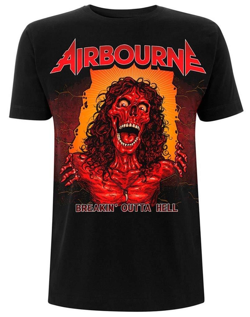 Airbourne Breakin Outta Hell Tshirt