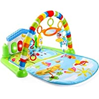 Mummamia Play As You Grow Baby Gym Mat with Piano and Toys, Multicolor