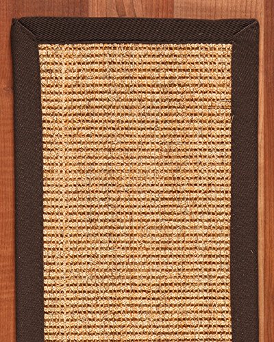 NaturalAreaRugs Montreal 100-Percent Sisal Carpet Stair Treads Rug Set, 9-Inch by 29-Inch, Set of 13 by NaturalAreaRugs