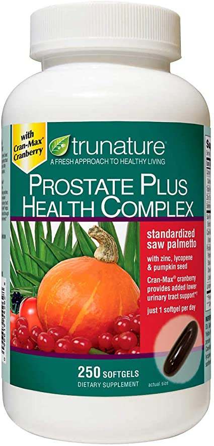 suplemento de próstata con licopeno con agua