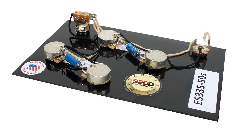 Duncan Pearly Gates Humbucker Pickup Set Nickel Es335 Es 335 Wiring Harness 50 Long Musical Instruments
