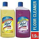 Lizol Disinfectant Floor Cleaner - 975 ml (Citrus) with Disinfectant Floor Cleaner - 975 ml (Lavender)