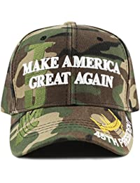 "Exclusive 45th President Trump ""Make America Great Again"" 3D Cap"