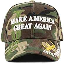 "The Hat Depot Exclusive 45th President Trump ""Make America Great Again"" 3D Cap"