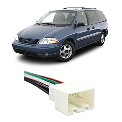amazon com fits ford windstar 1999 2003 factory stereo to