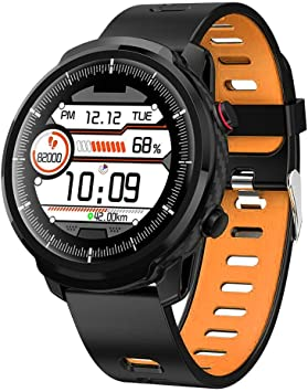 Amazon.com: Xuenuos L3 IP68 reloj inteligente de pulsera ...