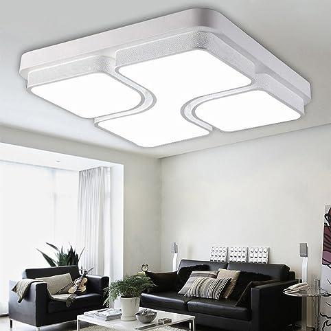 ETiME 48W Design LED Deckenlampe Led Deckenleuchte Wohnzimmer ...