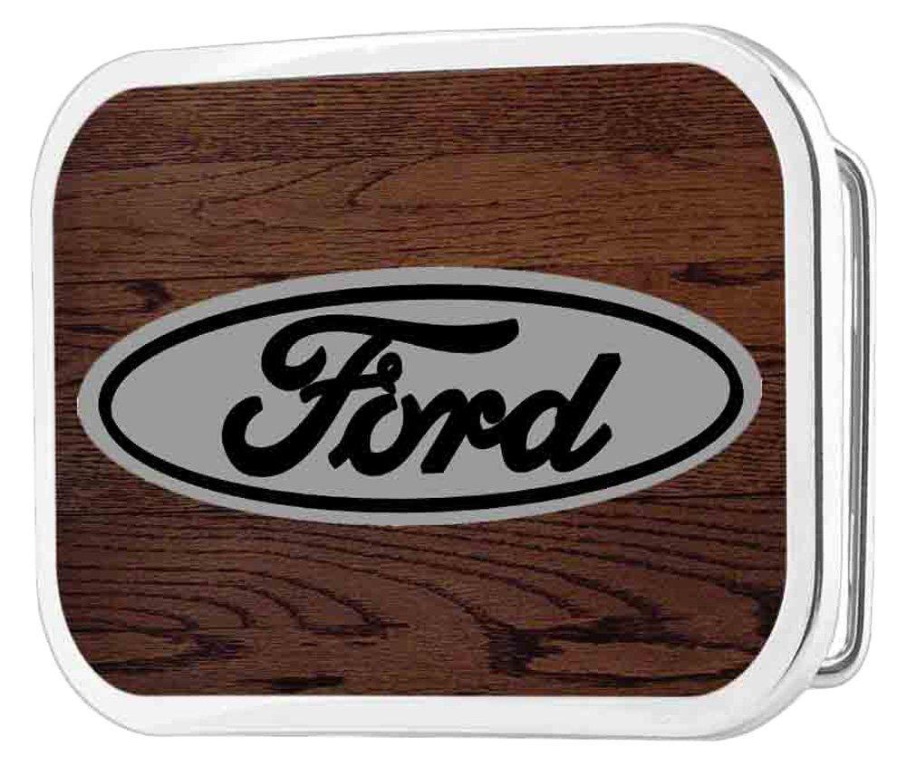 Ford Automobile Company Classic Logo Rockstar Belt Buckle Buckle Down