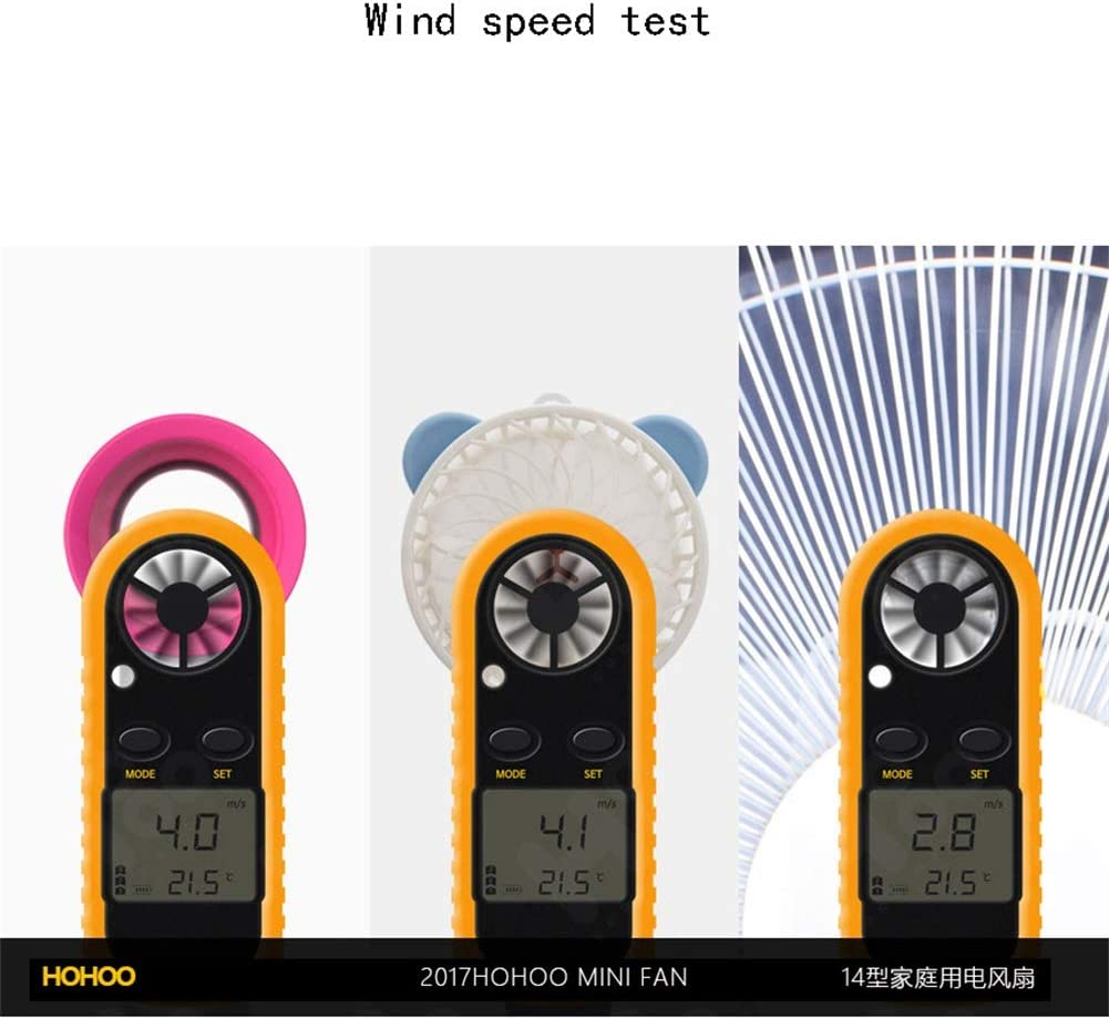 Portable USB Handheld Fan Student Dormitory Hand With Small Fan Charging 160 65 64 Mm Leafless Fan